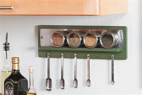 magnetic spice rack home style