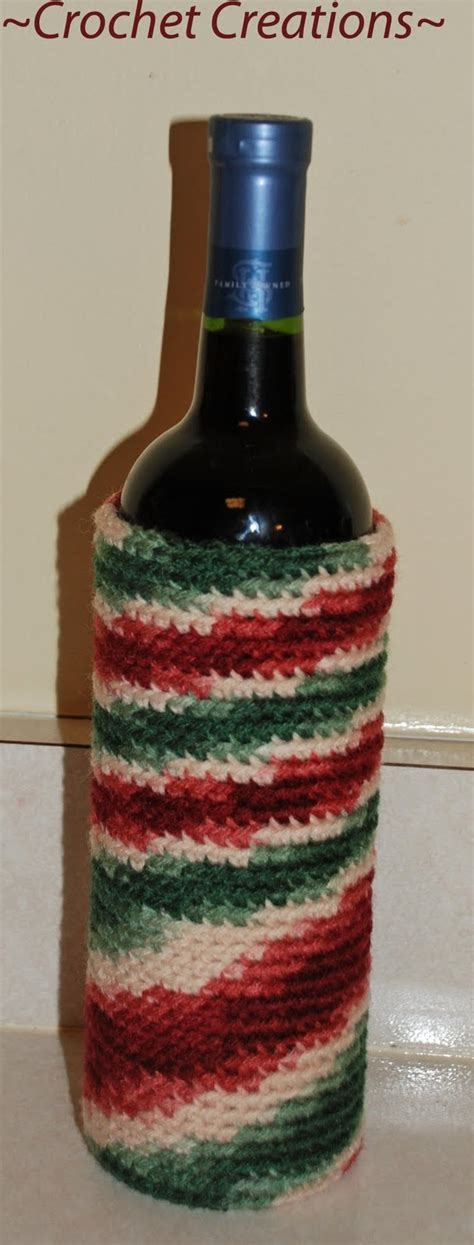 pattern for wine bottle holder 17 best images about crochet wine bottle covers on
