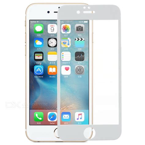 Temppered Glass Melodyy Iphone 66 s what arch tempered glass screen protector for iphone 6 6s white free shipping dealextreme