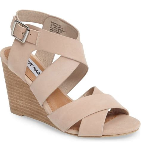 absolutely adoring this classic wedge sandal by steve