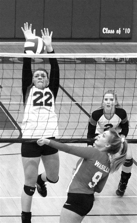 northern lights volleyball tournament valley battles highlight first day of tourney local