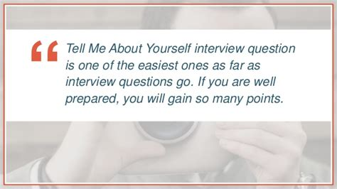 Mba Tell Me About Youself by Tell Me About Yourself Tips And Tricks
