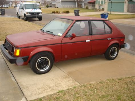 1983 dodge omni 1983 dodge omni information and photos momentcar