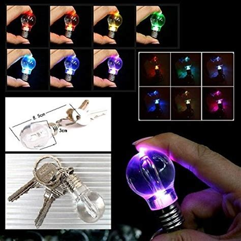 Mini Flash Multi Color Light L Led Bulb With Keychain T0210 Mini Flash Multi Color Light L Led Bulb With Keychain