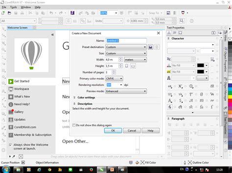 cara membuat spanduk dengan coreldraw desain corel draw membuat desain spanduk dengan coreldraw x7 blog modern