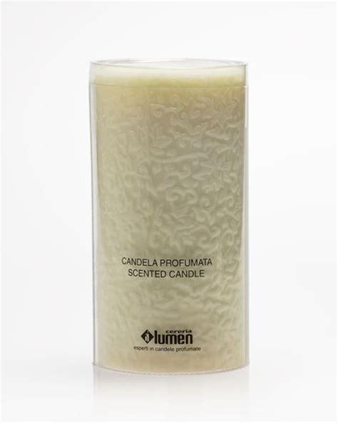 candela candelora lumen candelora candela 10x20cm avorio vaniglia
