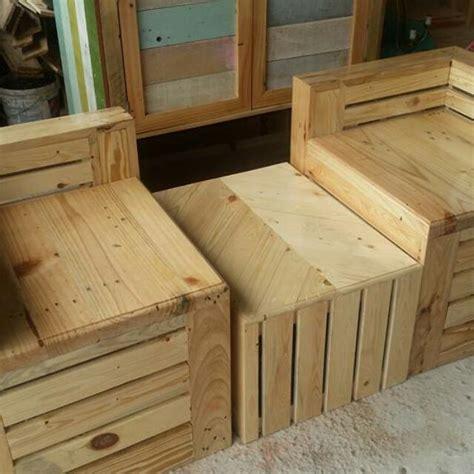 Kursi Kayu Satu Set Satu Set Kursi Kayu Pinus Perabotan Rumah Di Carousell
