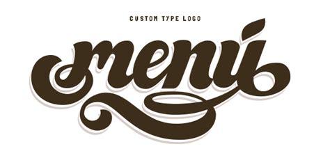 menu design lettering menu fruit on behance
