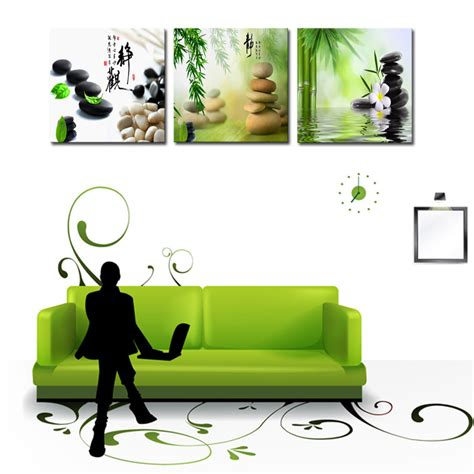 100 monochrome home decor 2015 wall decal buddha 2015 unframed 3 pieces stone landscape modern home wall
