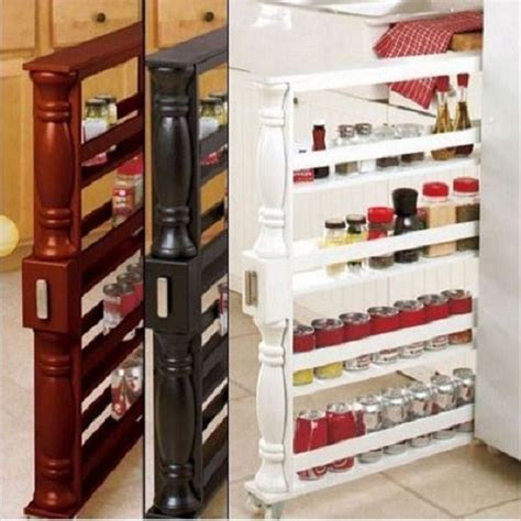 Spice Racks With Spices For Kitchen Sliding Spice Rack Without Spices Organizer Can Slim