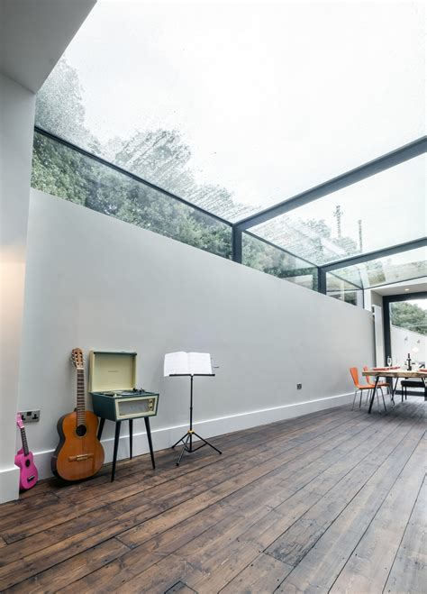 glass roof modern rev involving a glass roof transforms this