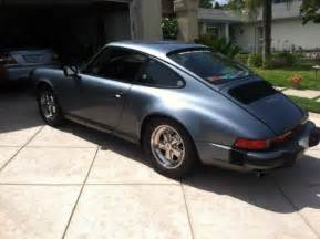 1983 Porsche 911sc Specs 1983 Porsche 911sc Coupe Slate Blue Metallic Documented