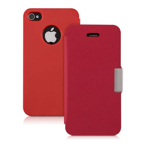 Flip Cover Iphone 4 Flip Cover For Apple Iphone 4 4s Slim Back Shell
