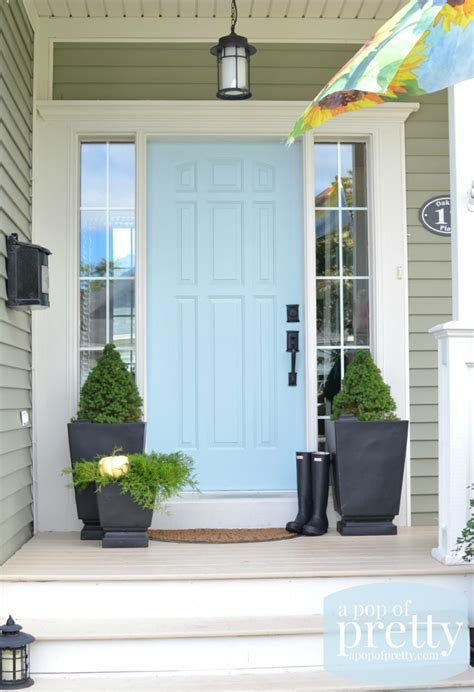 canadian home design blogs door color ideas 10 pretty blue doors a pop of pretty