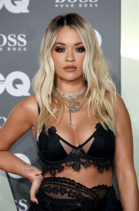 Rita Ora Thefappening Sexy At Men Of The Year Awards 2019