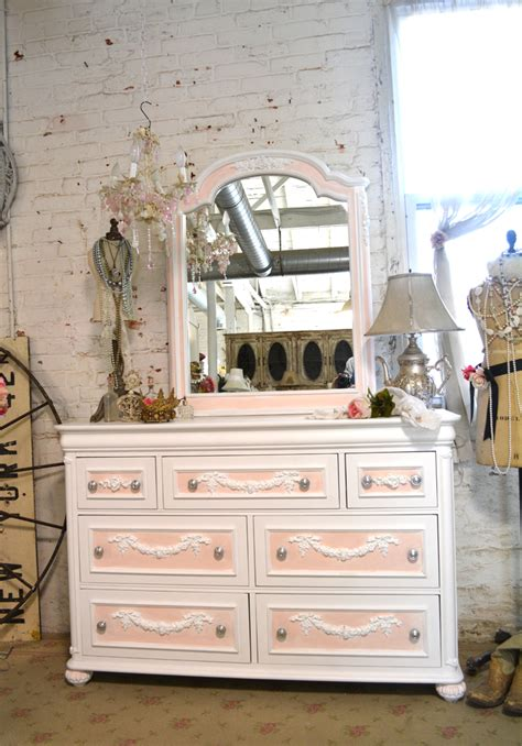 Shabby Chic Painted Dressers by Painted Cottage Chic Shabby Dresser