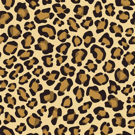 Vintage Background Leopard Skin Style Seamless Background With Leopard Skin Pattern Wall Mural