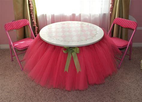 cool creativity how to diy pretty tutu table
