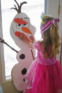 Free printable pin the nose on olaf