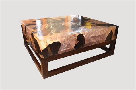 cracked resin coffee table cracked resin coffee table cr45 andrianna shamaris