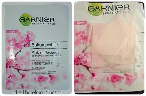 Masker Garnier Pink porcelain princess review garnier white pinkish radiance skincare