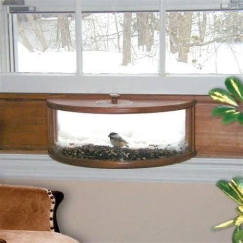 window mounted bird house coveside panoramic in house window bird feeder ebay