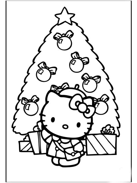 coloring sheets hello kitty christmas hello kitty christmas coloring pages realistic coloring