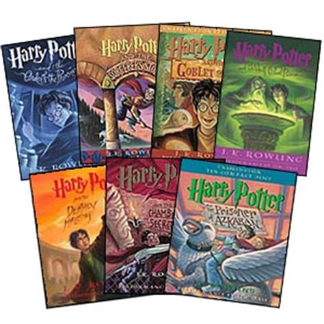the of harry potter books get hooked on books harry potter by j k rowling