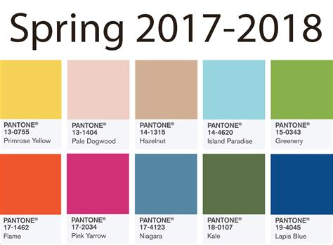 spring color trends 2017 color trends spring 2017 2018 updated back to brain