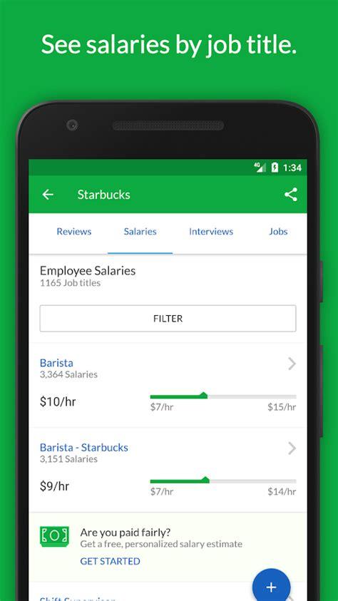 glassdoor job search salaries reviews android apps