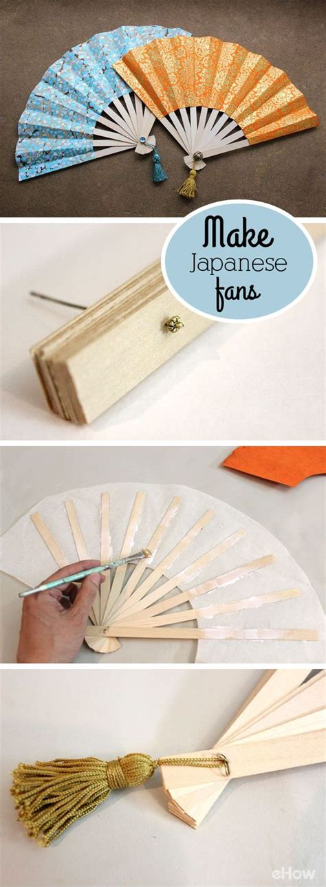 How To Make A Japanese Paper Fan - loby style 08 01 2016 09 01 2016
