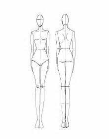 fashion template fashion croquis on fashion templates
