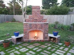 diy outdoor fireplace deck design and ideas