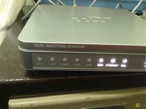reset wifi tm streamyx adsl maritime w3400v6 的default login password 已