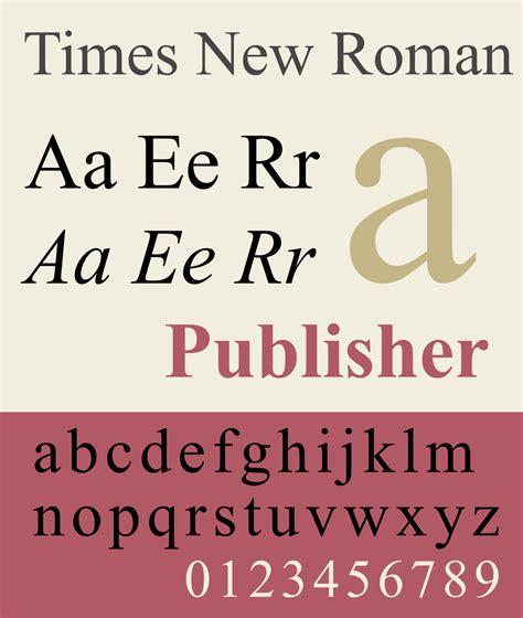 Times New times new la enciclopedia libre