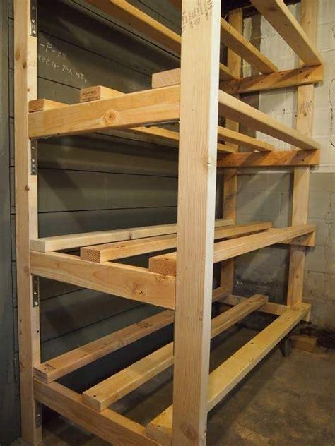 building storage bin racks   basement
