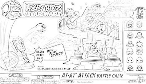 angry birds wars rebels coloring pages pin by patti wade on bday ideas sw ab