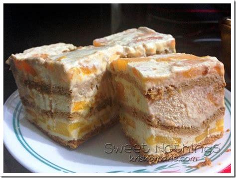 kriska cooks graham refrigerated cake queso mango float