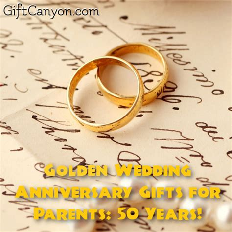 Wedding Anniversary Gift For Parents by Golden Wedding Anniversary Gifts For Parents 50 Years