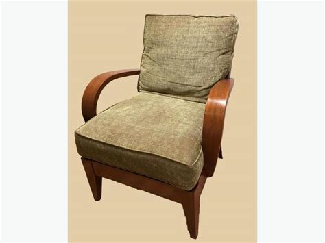 mission style chair and ottoman small scale mission style ethan allen chair and ottoman
