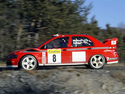 wrc mitsubishi 2001 mitsubishi lancer evolution vii wrc review