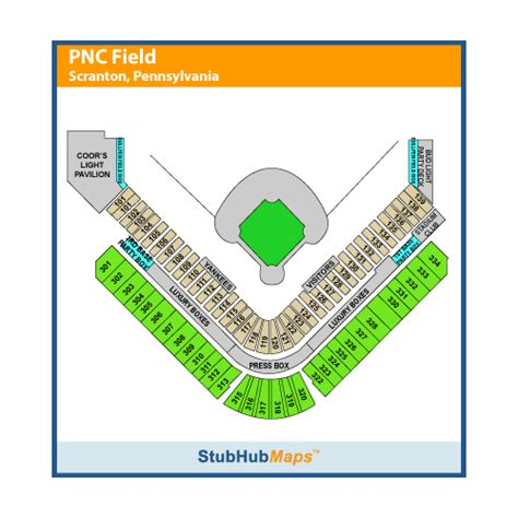 railriders seating chart pnc field events and concerts in moosic pnc field eventful