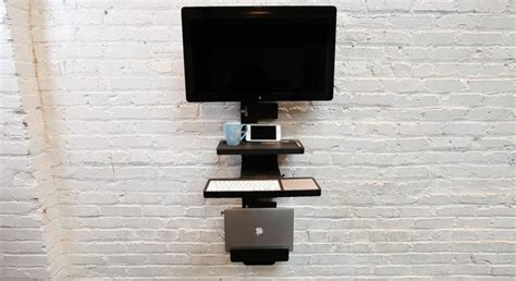 wall mounted standing desk wall mounted standing desk yea or nay core77
