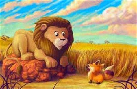 lade lupo la zorra y la leona fabulas cortas