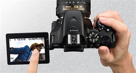 Kamera Nikon Merah kamera dslr layar sentuh murah berkualitas unggulan