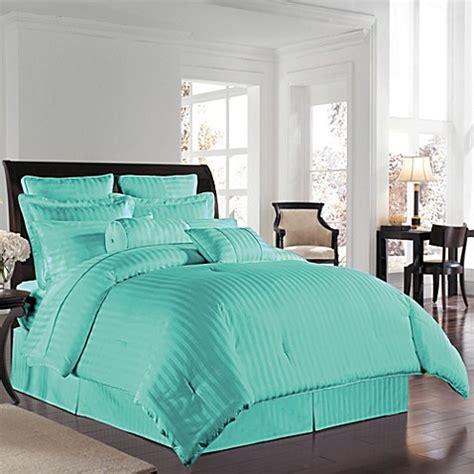 aqua twin comforter buy wamsutta 174 500 damask king comforter set in aqua from
