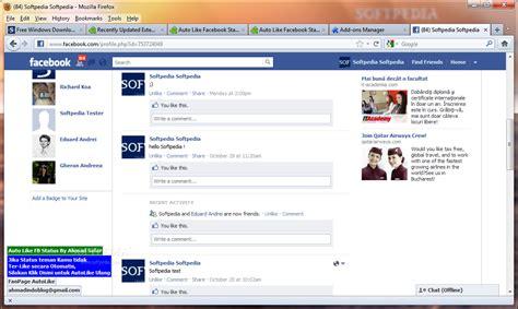Auto Like Facebook auto like facebook statuses download