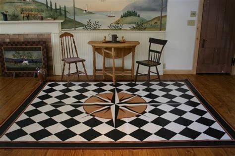 Compass Background Check Curry Mair Floor Cloth Master Interior Design Costa Rica