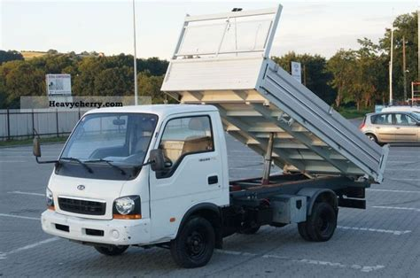 Kia Tipper Three Sided Tipper Or Truck Up To 7 5t Commercial