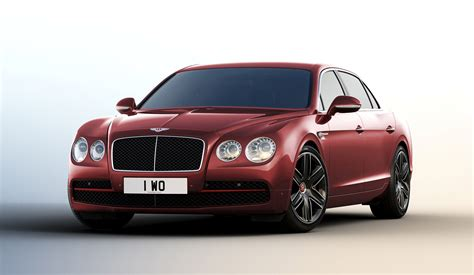 red bentley cost 2016 bentley flying spur gets sporty beluga trim